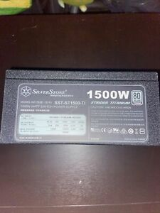 Silverstone St-1500-to80 PLUS Titanium 1500wFully Modular SFX-L Power Supply...
