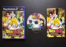 DRAGON BALL Z BUDOKAI TENKAICHI : JEU PLAYSTATION 2 PS2 (complet, envoi suivi)