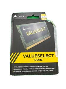 16GB (2x8GB) Corsair Value Select - 204-Pin DDR3 1333 Laptop Memory Cards