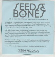 (EP772) Seeds & Bones, Lay It Down - 2013 DJ CD