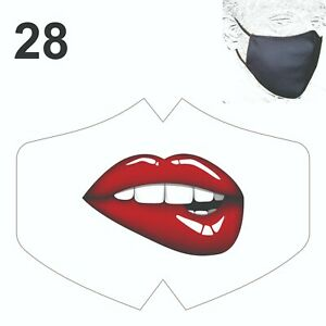 Valentine Face Mask Reusable Breathable Washable Double layer Protection Cover