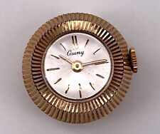 Cauny Vintage Lady Watch Hand Manual Winding Watch Rope Doesn'T Works 19,5mm 3WC