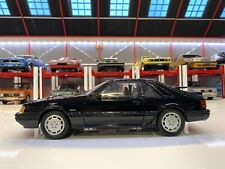 1/18 Welly 1986 Ford Mustang 5.0L SVO Fox Body. Rare Model. Not GMP
