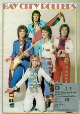BAY CITY ROLLERS (1975 TOUR PROGRAMME & TICKET STUB)