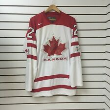 Team Canada jarome iginla Hockey Jersey Size Xl Nike Bauer With Fight Strap