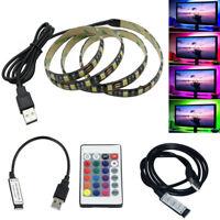 USB 0.5M/1M/2M/3M/5M LED Strip Light 5050 SMD TV Background Computer Waterproof