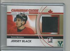 ITG Vault 1 of 1 Teal Canadian Cloth Patch Patrice Bergeron CCM-32 Canada vs W
