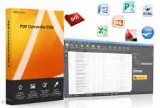 PDF Editor /Converters / OCR /Up to 5Pc/ Fast Download!