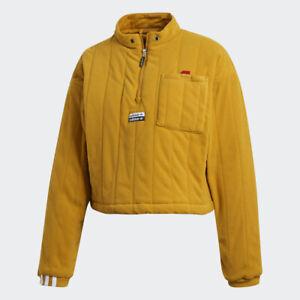 Adidas Originals Women's Legacy Gold R.Y.V. SWEATSHIRT FREE SHIPPING GD3960