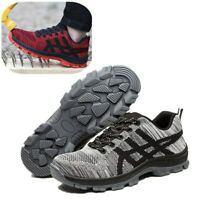 Women's Steel Toe Safety Work Shoes Slip Resistant Protect Shoes Hiking Shoes