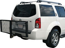 "60"" Folding Hitch Mount Cargo Carrier Rack Cargo Basket-500lb Capacity, Luggage"
