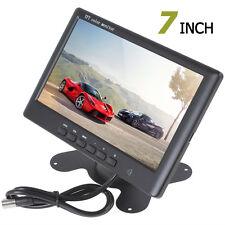 800 x 480 HD 7Inch TFT-LCD 2-CH Video Input Auto DVD Car Rear View Monitor 12V