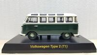Kyosho 1/64 VW VOLKSWAGEN BUS TYPE 2 GREEN diecast car model