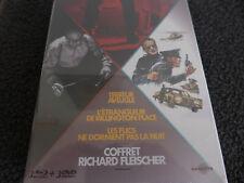 Coffret Richard Fleischer bluray/dvd
