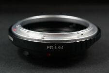 FD-LM adapter Canon FD lens to Leica M LM Camera Adapter M240 M10 Techart LM EA7