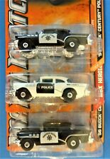 CHOOSE FROM 3 MATCHBOX '56 BUICK CENTURY POLICE CARS, OLD TOWN & HEROIC RESCUE