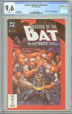 Batman: Shadow of the Bat #1 CGC 9.6 White Pages (1992) 2085971010