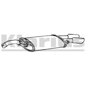 1x KLARIUS OE Quality Replacement Rear / End Silencer Exhaust For VW Petrol