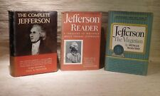 Lot of 3 Thomas Jefferson Books - Jefferson Reader, The Complete, Padover