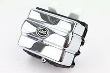 06 Harley Dyna Super Glide CHROME 35TH ANNIV. Right Side Cover Battery Caddy