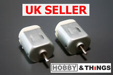 2x DC Motor - Toy Motor - Generator - 3v-6v - 130 motor replacement UK SELLER