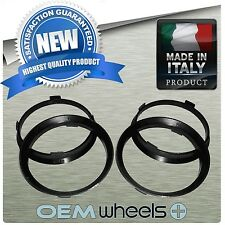 NEW POLYCARBONATE HUB CENTRIC HUBCENTRIC RINGS FOR 63.4mm CAR to 67.1mm  WHEELS