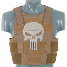 More details for stab and ballistic resistant body armour vest. stab proof / bullet proof vest