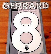 Liverpool LEGEND Home Shirt 2017-18 GERRARD#8 PS-Pro SportingiD Name Number Set