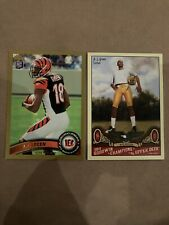 AJ Green Rookie Card Lot 2 Cards, 2 Card For One Price Cincinnati Bengals