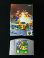 Super Mario 64 Nintendo 64 N64 Authentic With Manual Tested & Working Very Good!