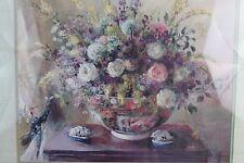 Summer Flowers Print by Elizabeth Parsons