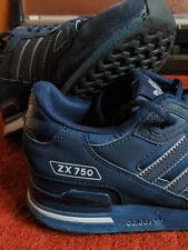 Da Uomo Adidas ZX 750 Sneaker UK 7-Navy Blue