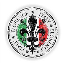 Florenz Toskana Aufkleber Motorrad Autoaufkleber Helm Flaggen