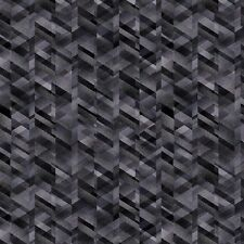 Pearl Prism Texture-Charcoal Gray-Kanvas Studio-Fat 1/4-Gray-Black-Touch of Blue