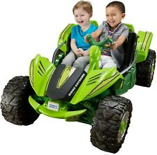 Battery Power Dune Buggy Car Racer Extreme 12V Ride On Kids Toy Wheels Green New