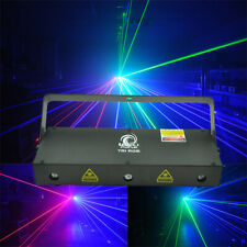 3 HEAD LASER LIGHT RED GREEN BLUE Willi Pro Disco / Nightclub DJ lazer rgb