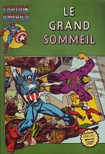 Captain America N°10 - Le grand sommeil - Arédit-Marvel Comics -1980 - BE