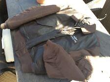 Breitling FLYING PILOT LEATHER jacket Size L ALPHA INDUSTRIES brown