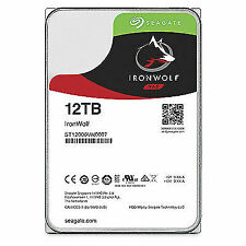 "Seagate ST12000VN0007 Ironwolf NAS 12TB 7200RPM 3.5"" Internal Hard Disk Drive"