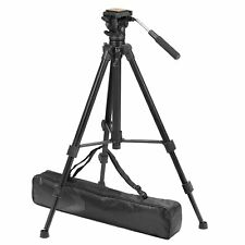 ZOMEI Professional Camcorder Camera Tripod Fluid Pan Head Heavy Duty  VT111