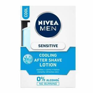 NIVEA MEN After Shave Lotion, Sensitive Cooling, 100 ml