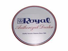 "Vintage 8"" Royal Vacuum Cleaner Authorized Dealer 2 Sided Display Door Sticker"