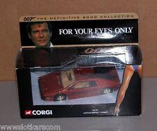 Corgi 04701 Lotus Esprit Turbo James Bond for your eyes only  N/B