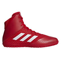 Adidas Mat Wizard 4 Men's Wrestling Shoes AC6972 - Red, White (NEW) Lists @ $129