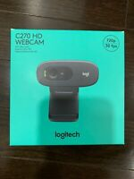 Logitech C270 HD Webcam 720p - Black *NEW - IN BOX*