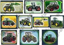 ★ TOP Traktor Traktoren Applikationen FLICKEN Aufnäher f. Jungen - 10 Stück NEU