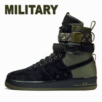 "MEN'S NIKE AIR FORCE 1 SF ""SPECIAL FIELD OPS"" MILITARY ARMY BOOTS 864024-004 12"