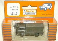roco 1/87 Volkswagen Type 2 Pritsche Army Transport Trk