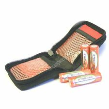 Portafoglio a Zip-up per 8x AA o batterie AAA NiMH/NiCd ecc.