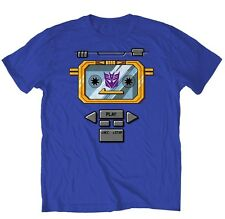 Transformers Decepticon Soundwave Costume Chest Licensed Adult T-Shirt